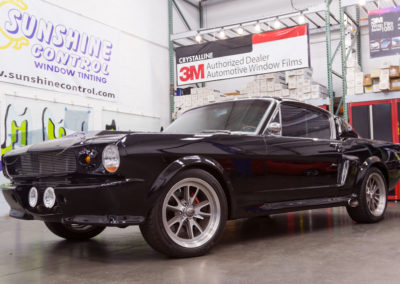 1965 Ford Mustang, window tint by Sunshine Control